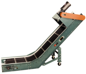 Model PC-F Parts Conveyor with Feeder | Conveyability
