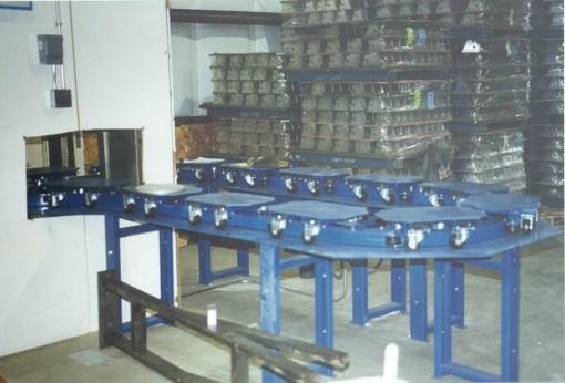 Inverted Power Chain Conveyor